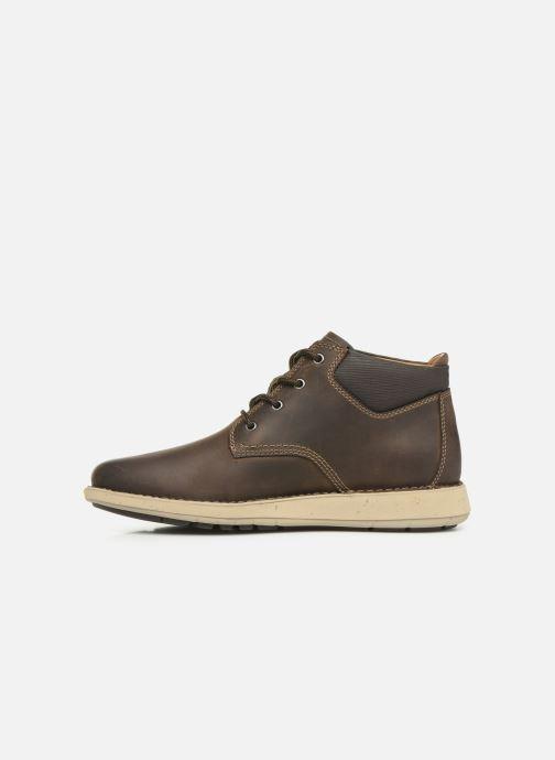 Boots en enkellaarsjes Clarks Unstructured Un Larvik Top Bruin voorkant