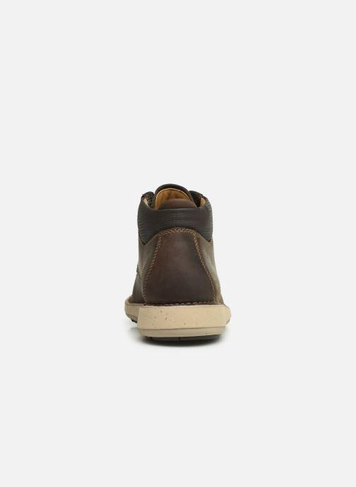 Boots en enkellaarsjes Clarks Unstructured Un Larvik Top Bruin rechts