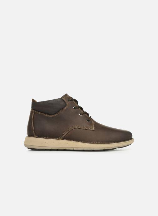 Boots en enkellaarsjes Clarks Unstructured Un Larvik Top Bruin achterkant