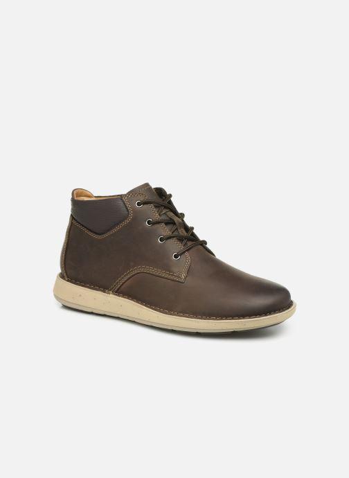 Bottines et boots Clarks Unstructured Un Larvik Top Marron vue détail/paire