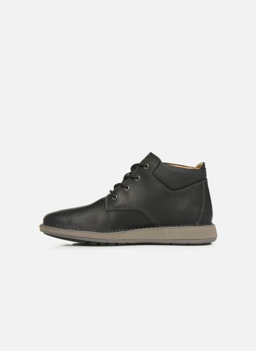 Bottines et boots Clarks Unstructured Un Larvik Top Noir vue face