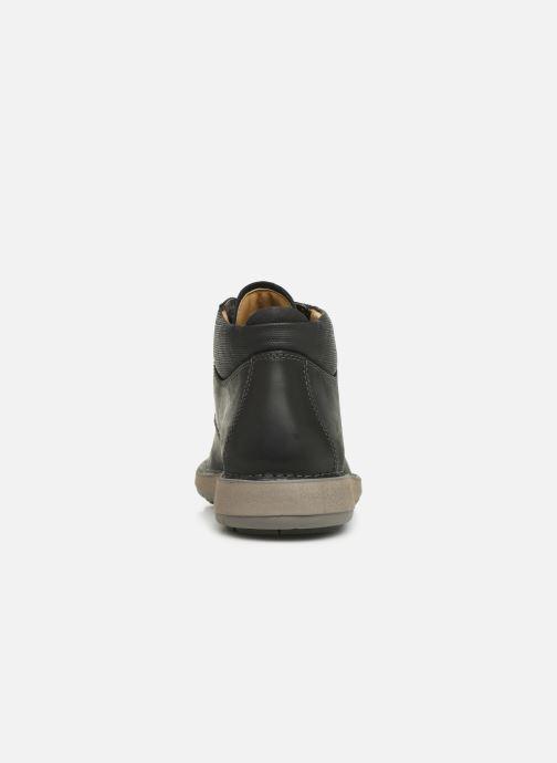 Bottines et boots Clarks Unstructured Un Larvik Top Noir vue droite