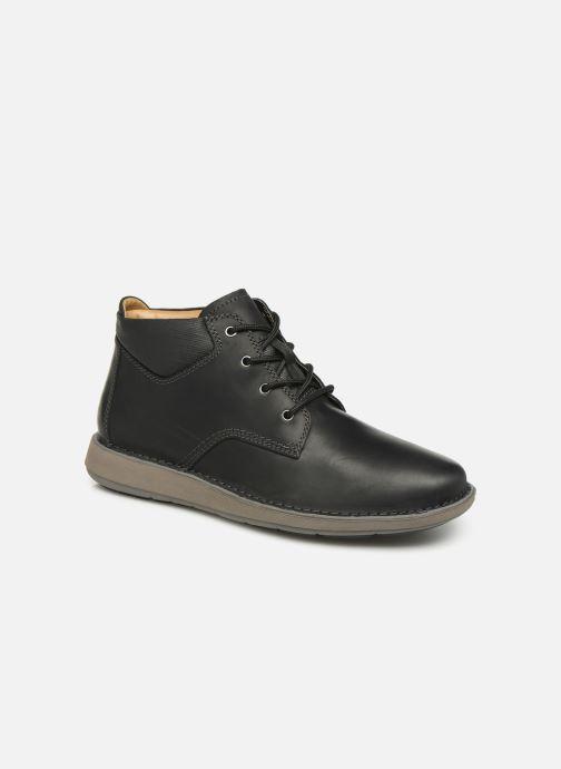 Bottines et boots Clarks Unstructured Un Larvik Top Noir vue détail/paire