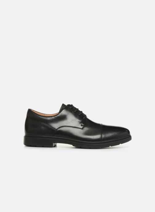 Zapatos con cordones Clarks Unstructured Un Tailor Cap Negro vistra trasera