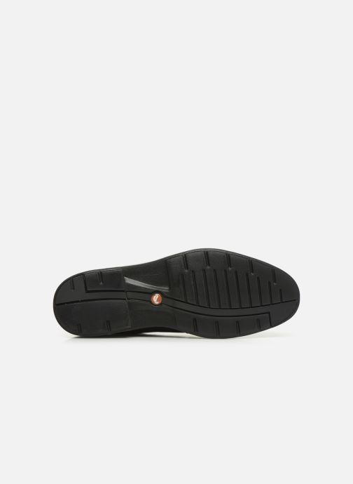 Chaussures à lacets Clarks Unstructured Un Tailor Cap Noir vue haut