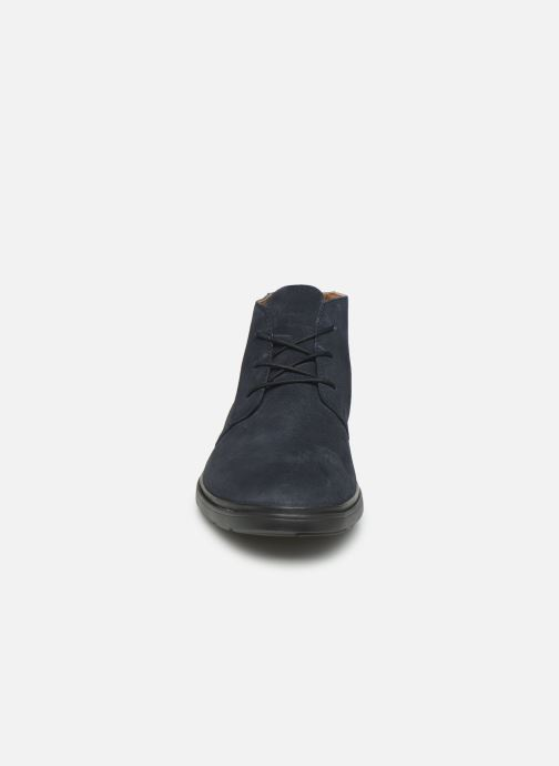 Ankle boots Clarks Unstructured Un Tailor Mid Blue model view
