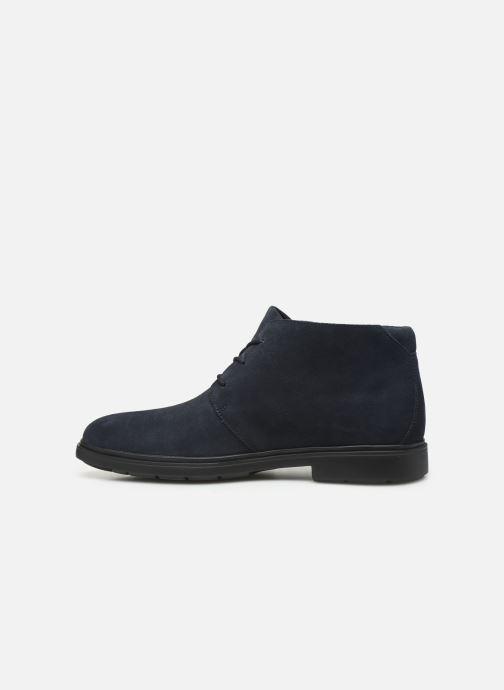 Bottines et boots Clarks Unstructured Un Tailor Mid Bleu vue face