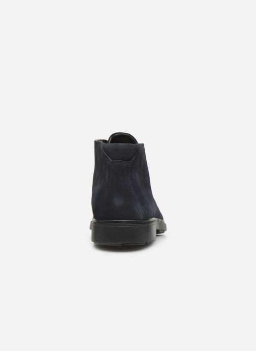 Ankle boots Clarks Unstructured Un Tailor Mid Blue view from the right