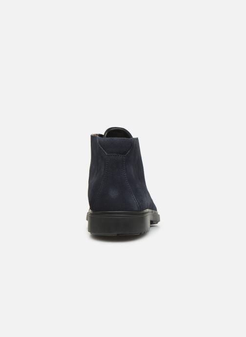 Bottines et boots Clarks Unstructured Un Tailor Mid Bleu vue droite