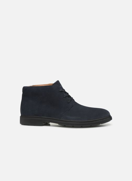 Ankle boots Clarks Unstructured Un Tailor Mid Blue back view