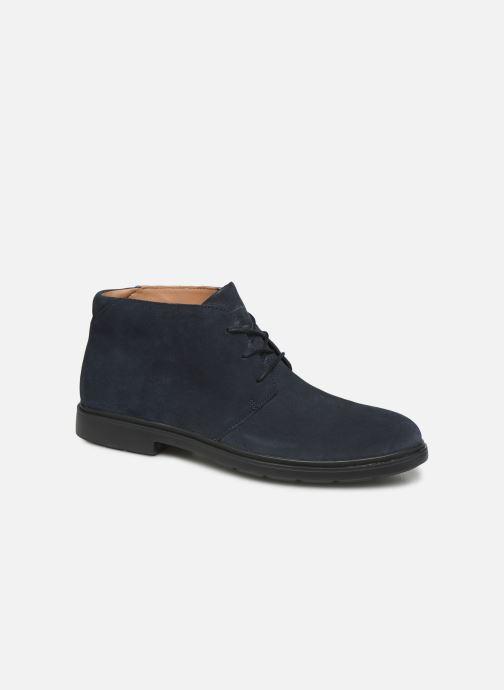 Bottines et boots Clarks Unstructured Un Tailor Mid Bleu vue détail/paire