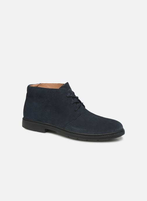 Ankle boots Clarks Unstructured Un Tailor Mid Blue detailed view/ Pair view
