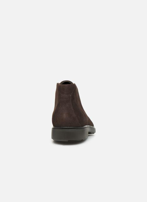Bottines et boots Clarks Unstructured Un Tailor Mid Marron vue droite
