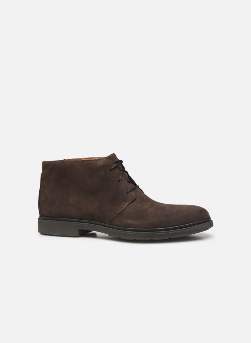 Ankle boots Clarks Unstructured Un Tailor Mid Brown back view