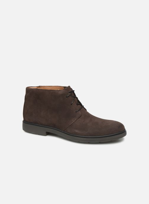 Ankle boots Clarks Unstructured Un Tailor Mid Brown detailed view/ Pair view
