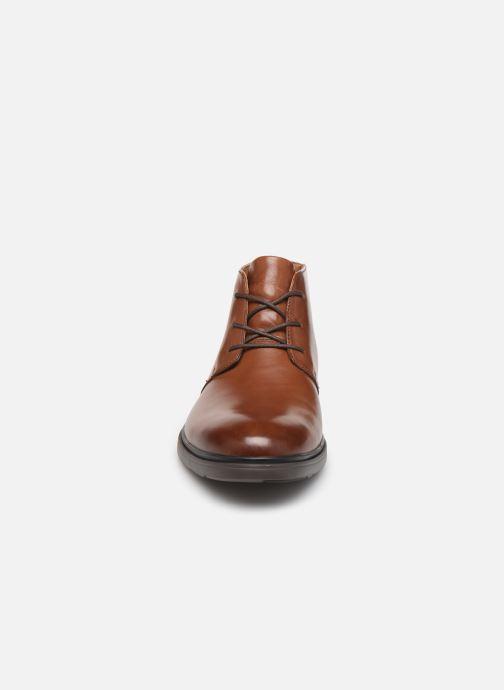Stiefeletten & Boots Clarks Unstructured Un Tailor Mid braun schuhe getragen
