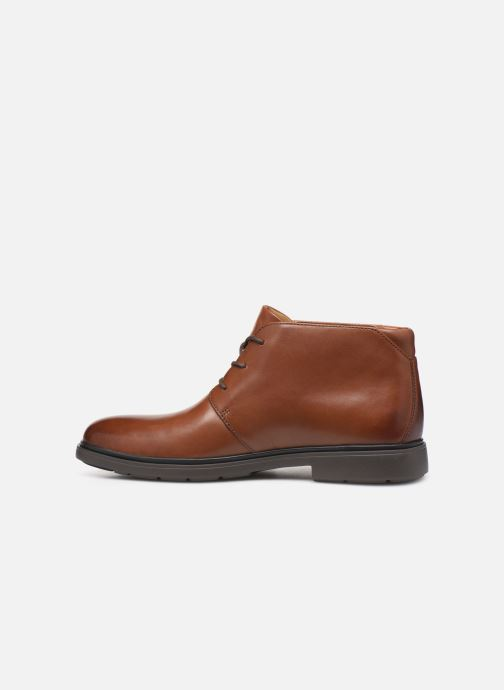 Bottines et boots Clarks Unstructured Un Tailor Mid Marron vue face