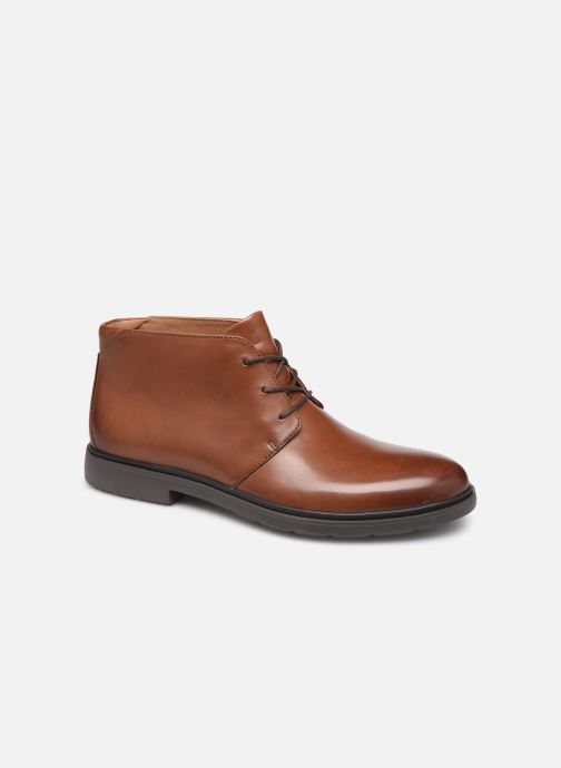 Bottines et boots Clarks Unstructured Un Tailor Mid Marron vue détail/paire