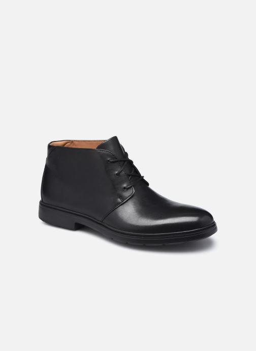 Ankelstøvler Clarks Unstructured Un Tailor Mid Sort detaljeret billede af skoene