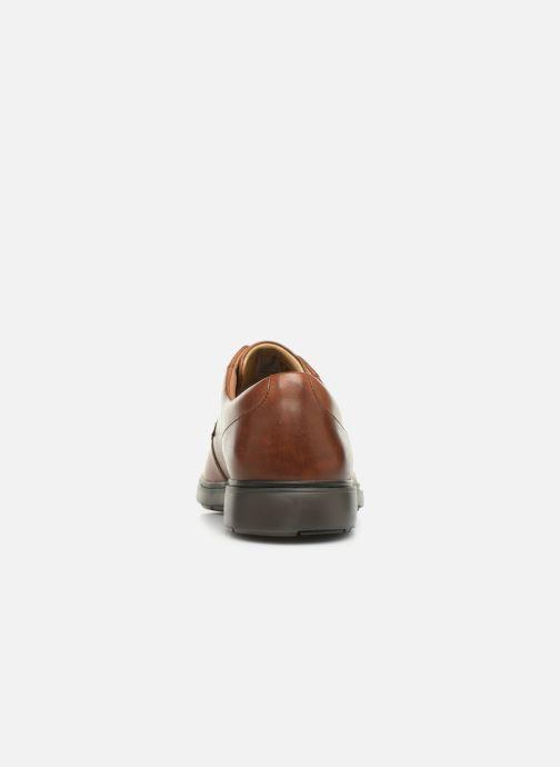 Chaussures à lacets Clarks Unstructured Un Tailor Tie Marron vue droite