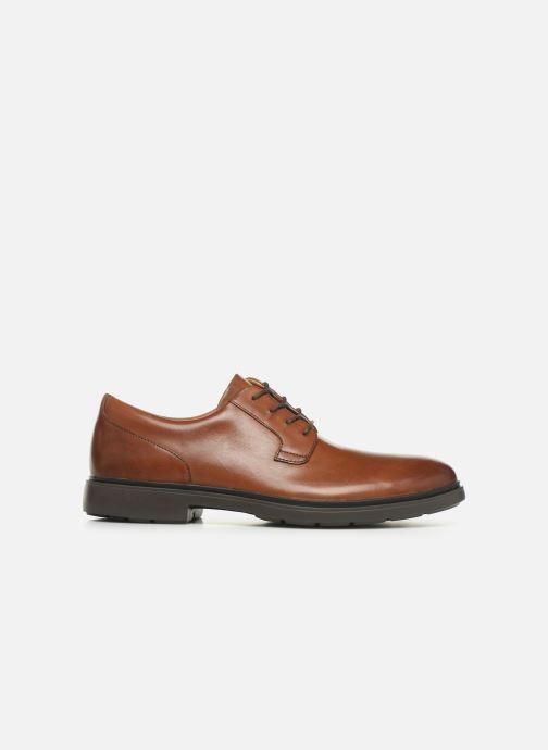 Chaussures à lacets Clarks Unstructured Un Tailor Tie Marron vue derrière
