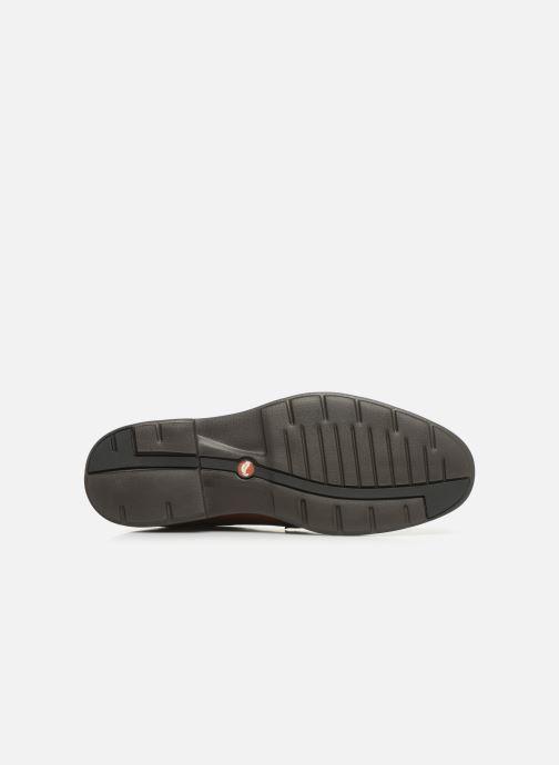 Chaussures à lacets Clarks Unstructured Un Tailor Tie Marron vue haut