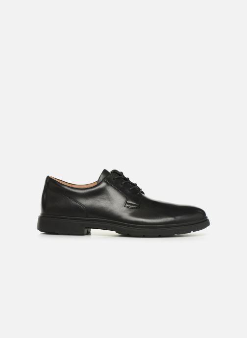 Zapatos con cordones Clarks Unstructured Un Tailor Tie Negro vistra trasera