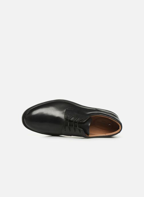 Scarpe con lacci Clarks Unstructured Un Tailor Tie Nero immagine sinistra
