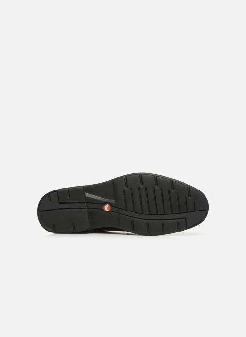 Chaussures à lacets Clarks Unstructured Un Tailor Tie Noir vue haut