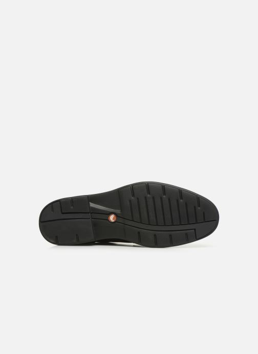 Zapatos con cordones Clarks Unstructured Un Tailor Tie Negro vista de arriba