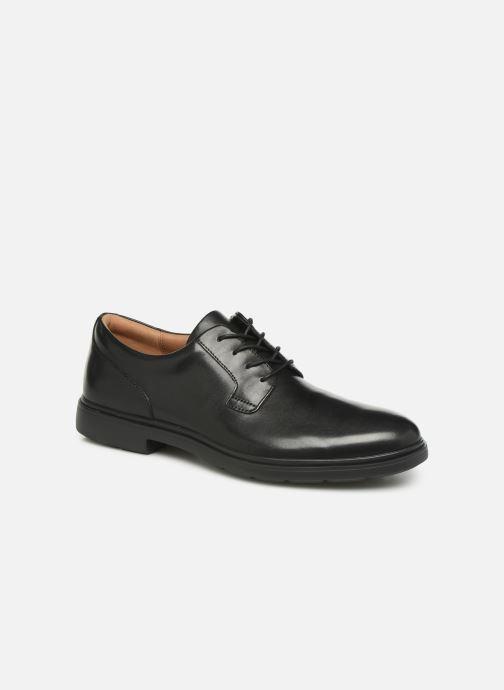 Chaussures à lacets Clarks Unstructured Un Tailor Tie Noir vue détail/paire