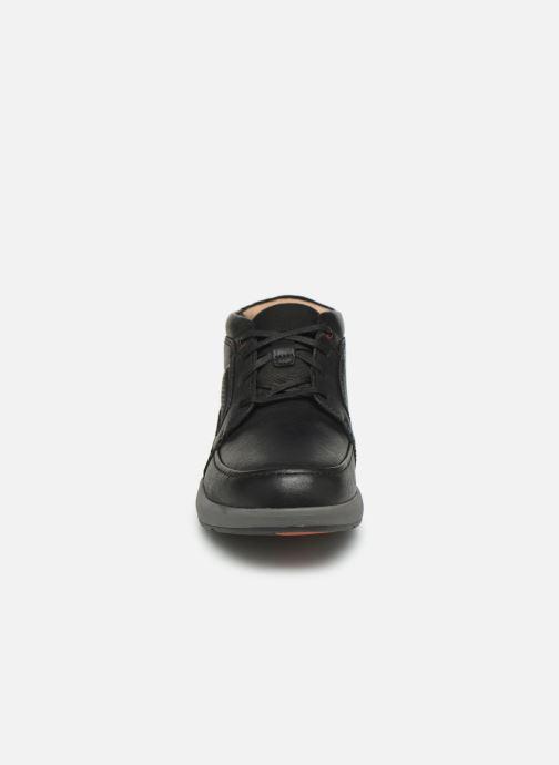 Bottines et boots Clarks Unstructured Un Trail Limit Noir vue portées chaussures