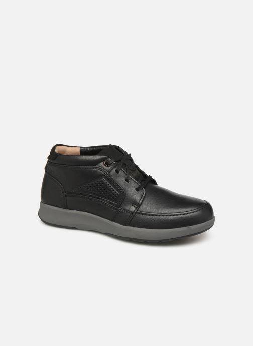 Bottines et boots Clarks Unstructured Un Trail Limit Noir vue détail/paire