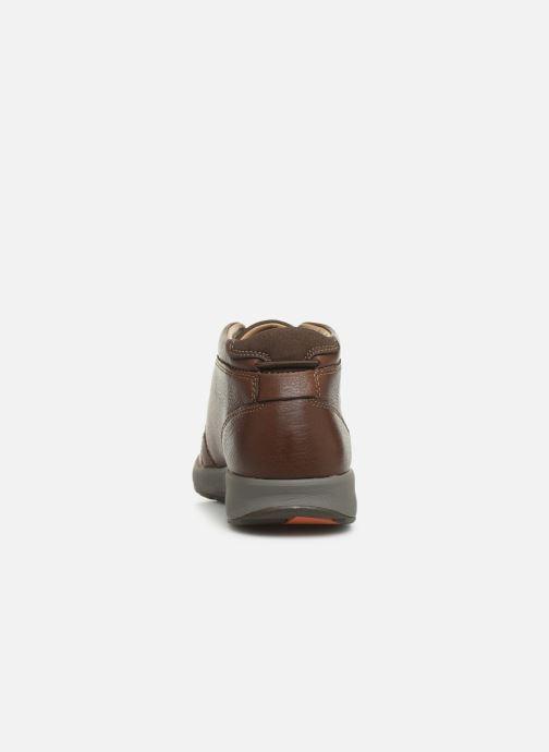 Boots en enkellaarsjes Clarks Unstructured Un Trail Limit Bruin rechts