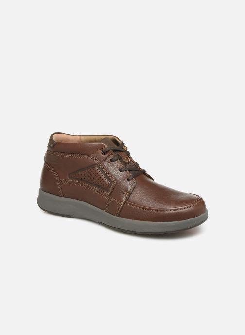 Bottines et boots Clarks Unstructured Un Trail Limit Bordeaux vue détail/paire