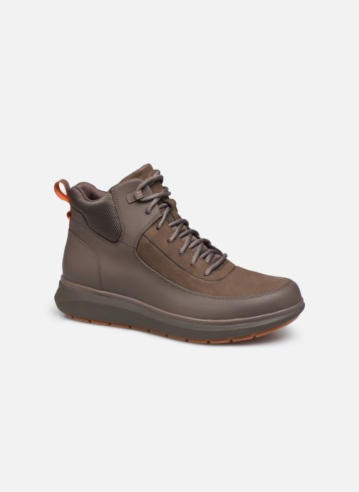 Ankelstøvler Clarks Unstructured Un Venture Up Brun detaljeret billede af skoene