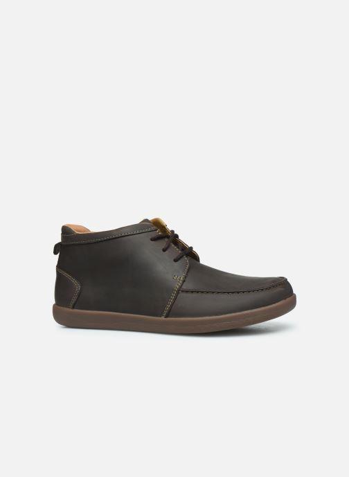 Boots en enkellaarsjes Clarks Unstructured Un Lisbon Up Bruin achterkant