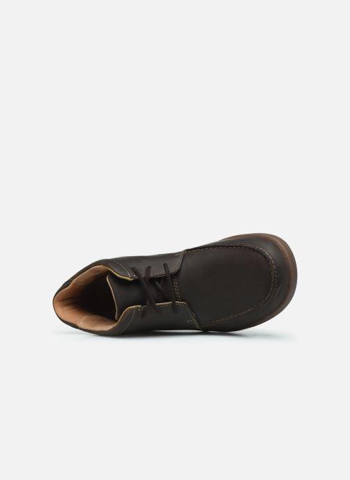 Boots en enkellaarsjes Clarks Unstructured Un Lisbon Up Bruin links