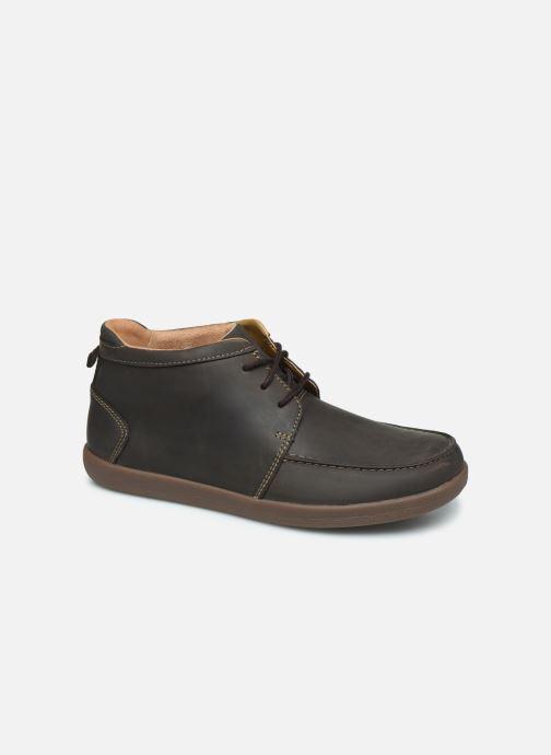 Boots en enkellaarsjes Clarks Unstructured Un Lisbon Up Bruin detail