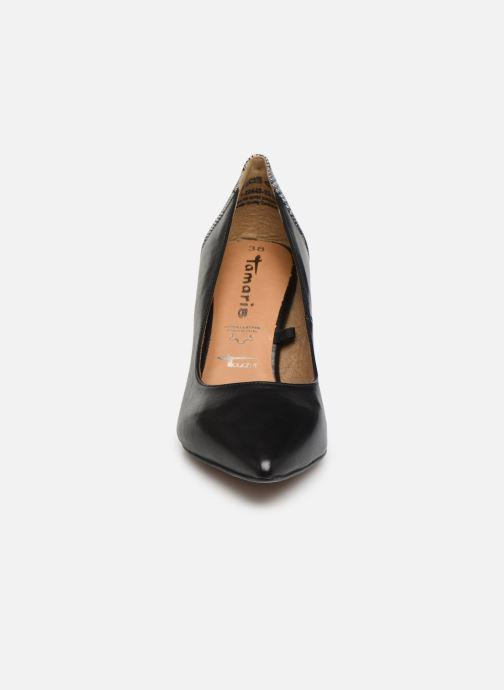 Escarpins Tamaris Catherine Noir vue portées chaussures