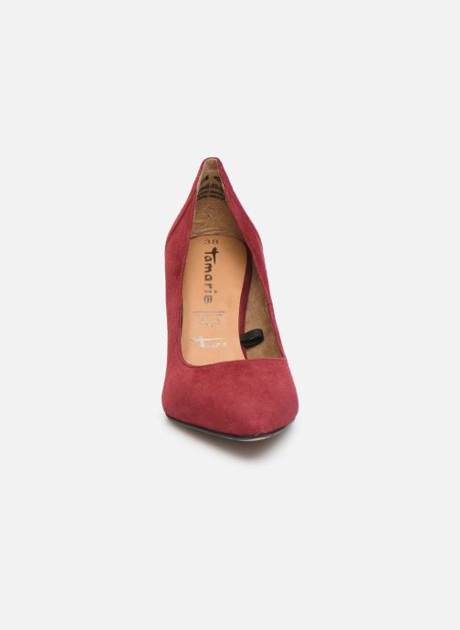 Escarpins Tamaris Catherine Bordeaux vue portées chaussures
