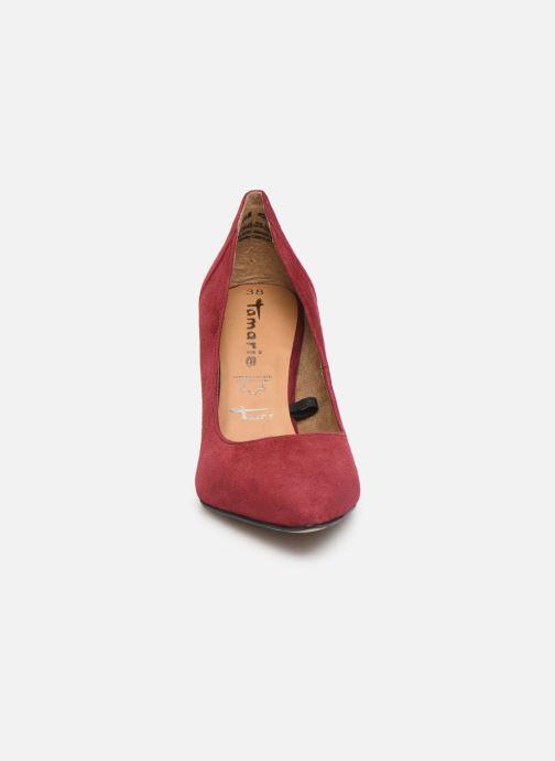 Zapatos de tacón Tamaris Catherine Vino vista del modelo