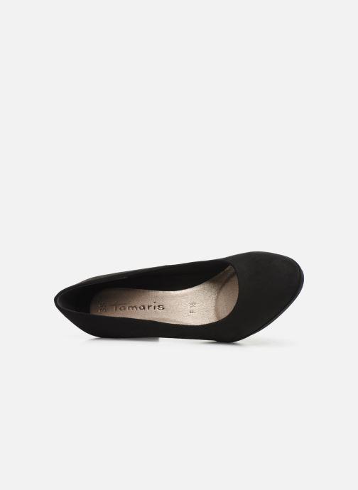 Zapatos de tacón Tamaris Juliane Negro vista lateral izquierda