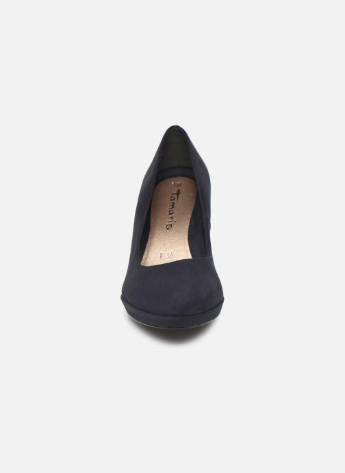 Escarpins Tamaris Juliane Bleu vue portées chaussures
