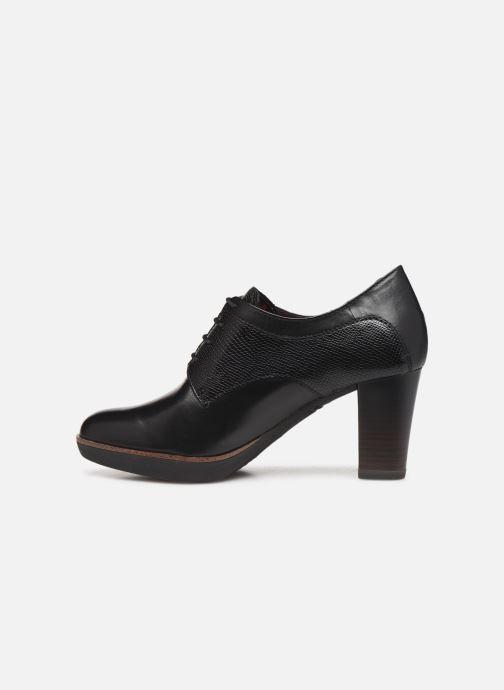 Lace-up shoes Tamaris NAMU NEW Black front view