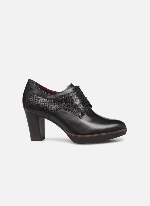 Lace-up shoes Tamaris NAMU NEW Black back view