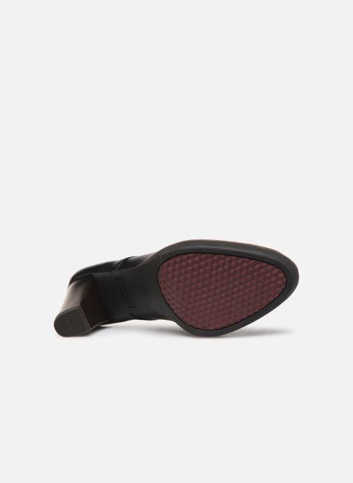 Chaussures à lacets Tamaris NAMU NEW Noir vue haut