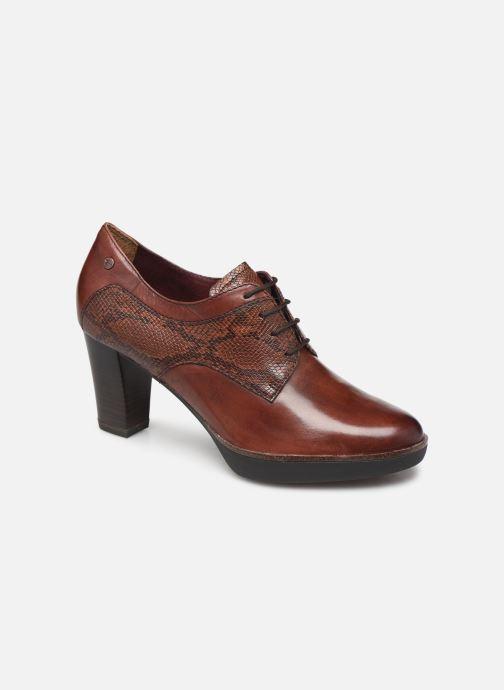 Lace-up shoes Tamaris NAMU NEW Brown detailed view/ Pair view