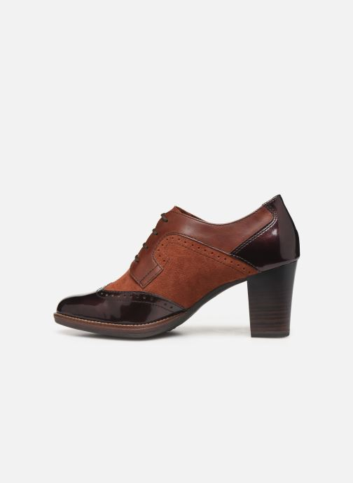 Chaussures à lacets Tamaris NAMU NEW Marron vue face