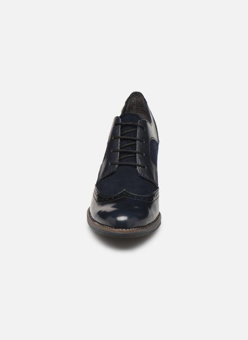 Chaussures à lacets Tamaris NAMU NEW Bleu vue portées chaussures